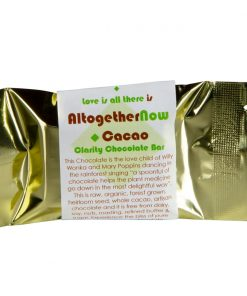 Living Libations - All Together Now - Clarity Chocolate bar2