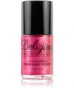 Delizioso Skincare - Pink Dragon Fruit 5-Free Nail Strengthening Nail Polish