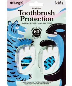 Kids' Snap-On Toothbrush Protection dr Tungs