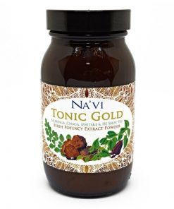 Navi Organics- Tonic Gold 1- Herbal Coffee - Immune Boosting Antioxidant Elixir