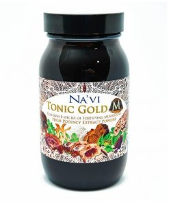Na´Vi Organics - Tonic Gold M - 1 Herbal Coffee - Medicinal Mushroom Elixir - Immune Boosting Antioxidant