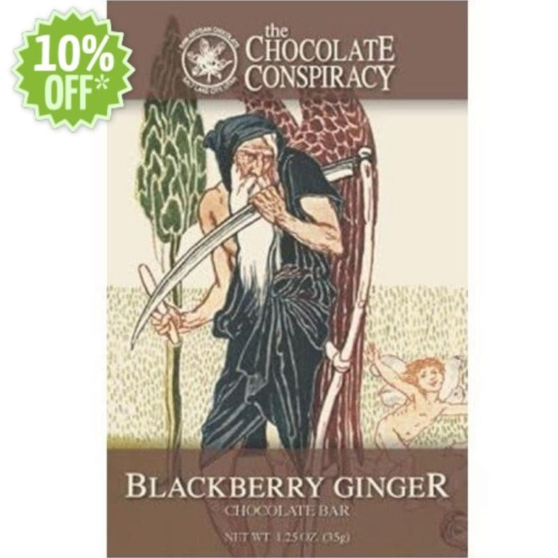 Chocolate Conspiracy Blackberry Ginger