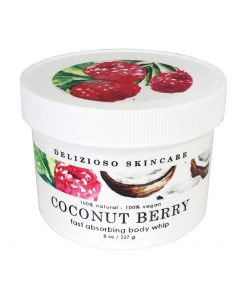 Delizioso Skincare - Coconut Berry Body Whip1