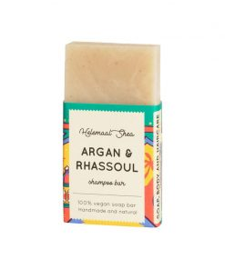 Helemaalshea - Argan & Rhassoul Shampoo Bar - Mini 1