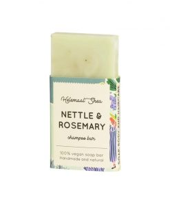 Helemaalshea - Nettle & Rosemary Shampoo Bar - Mini 1