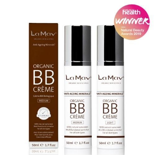 La Mav - Certified Organic BB Creme - Light - Medium