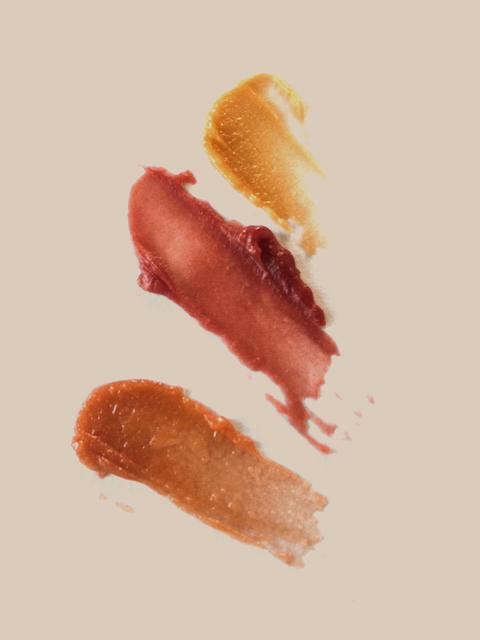 TINTED SOLE LIP + FACE BALMS Softly coloured with a shimmer of edible Mica...'' lepaar