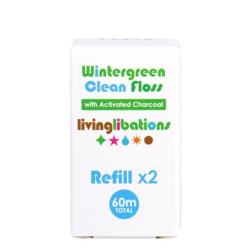 Living Libations 1 Wintergreen Clean Floss