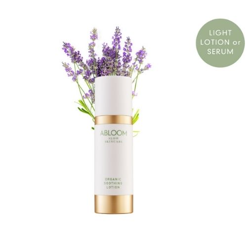 Abloom 1 organic soothing lotion