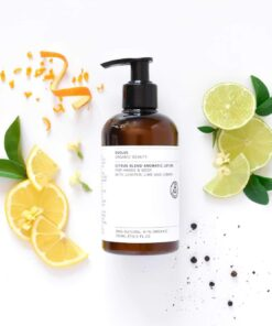 Evolve Organic Beauty 2 Citrus Blend Aromatic hand & Body Lotion