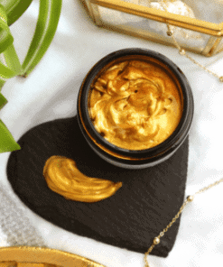 Evolve Organic Beauty 2 bio retinol gold face mask