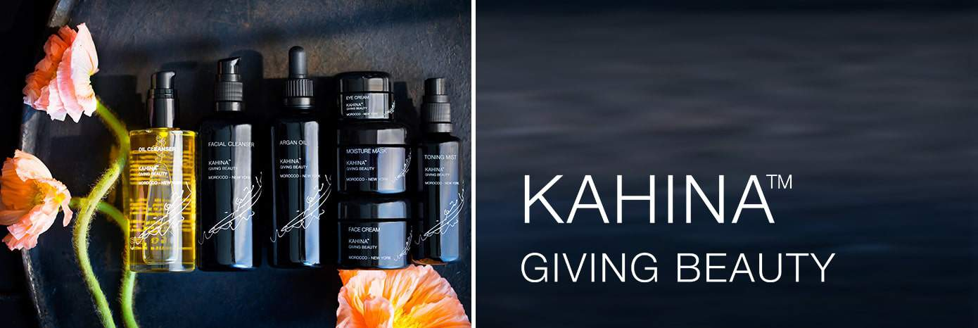 the gold standard in skincare kahina giving beauty