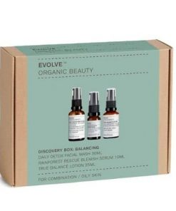 evolve organic 1 beauty discovery box balancing