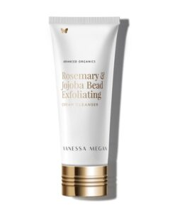 vanessa megan 1 ROSEMARY & JOJOBA BEAD EXFOLIATING CREAM CLEANSER