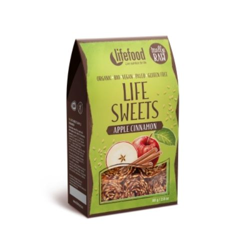 Lifefood Raw Organic Apple Cinnamon Life Sweets
