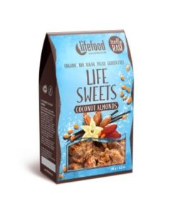 Lifefood Raw Organic Coconut Almonds Life Sweets