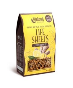 Lifefood Raw Organic Lemon Ginger Life Sweets